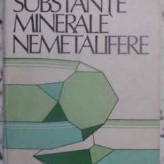 SUBSTANTE MINERALE NEMETALIFERE - V. BRANA, C. AVRAMESCU, I. CALUGARU