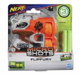 Blaster Nerf Microshots Zombie Strike Flipfury