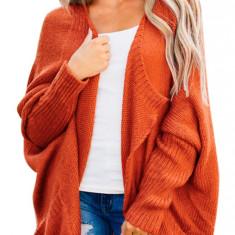 L656-91 Cardigan tricotat model lejer cu buzunare, L, M, M/L, S/M