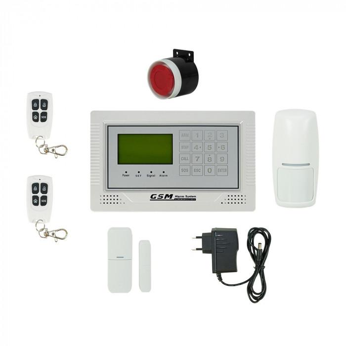 Resigilat : Sistem de alarma wireless PNI Safe House PG350 comunicator GSM 2G
