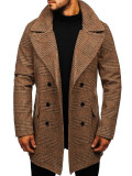 Palton de iarnă bărbați maro Bolf 1117