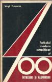 Fotbalul modern simplificat si 400 de intrebari si raspunsuri - Virgil Economu