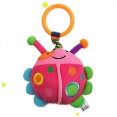 Jucarie cu vibratii pentru carucior-BabyMix Mamaruta TE9758-13R, Roz