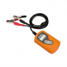 Tester digital baterie auto 12V, ecran LCD, cabluri 110 cm, Velleman