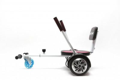 Pachet promo Smart Balance™: Hoverboard Off Road Iron + Hoverseat cu burete, roti 10 inch Pneumatice, Bluetooth, baterie Samsung, Boxe incorporate, foto