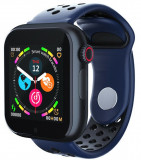 Cumpara ieftin Ceas Smartwatch cu telefon iUni Z6S, Touchscreen, Bluetooth, Notificari, Camera, Pedometru, Blue