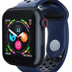 Ceas Smartwatch cu telefon iUni Z6S, Touchscreen, Bluetooth, Notificari, Camera, Pedometru, Blue