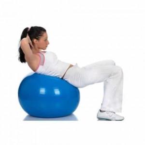 Minge gonflabila pentru fitness, 75 cm