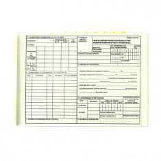 Foaie de parcurs marfuri international, format A4, orientare vedere, 100 file