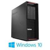 Workstation Refurbished Lenovo ThinkStation P500, E5-2678 v3, Quadro 5000, Win 10 Home