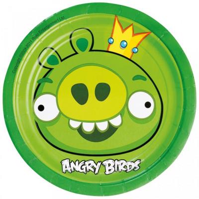 Farfurii Angry Birds Party18cm set 8 buc foto