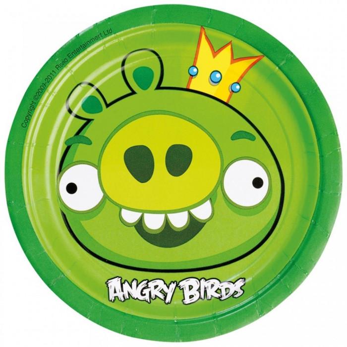 Farfurii Angry Birds Party18cm set 8 buc