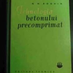 Tehnologia Betonului Precomprimat - N.m. Boghin ,547623