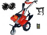 Motocultor Rotakt ROG80-T3, 7 CP, 3 viteze, carcasa transmisie fonta + Roti metalice + Prasitoare + Cadou ulei