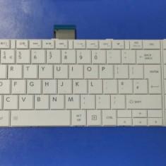 Tastatura laptop noua Toshiba Satellite C850 White UK
