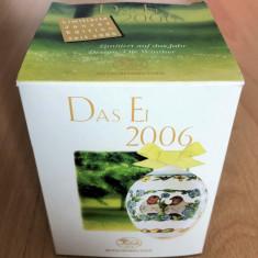 Ou - decoratiune Pasti - Hutschenreuther - cutie originala - 2006 - NOU !