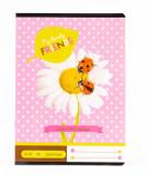 Cumpara ieftin Caiet vocabular A/5 31-32 cu model Floare