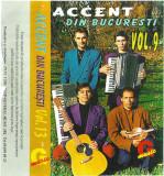 Casetă audio Accent Din București - Vol.9 Si Vol. 13, Casete audio