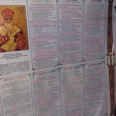 Calendar religios vechi Colectie,Calendar crestin ortodox de perete 2005,T.GRAT