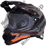 MBS Casca enduro/ATV AFX FX41, negru/gri/portocaliu, XXL, Cod Produs: 01105359PE