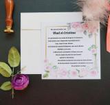 Invitatie nunta cu sigiliu OPIS039