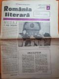 Romania literara 8 ianuarie 1981-ziua de nastere a lui elena ceausescu
