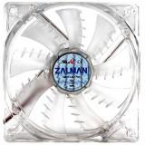 Ventilator Zalman ZM-F3LED(SF) , 120 mm , Blue LED , Transparent