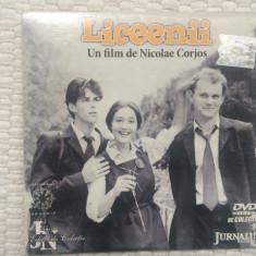 Liceenii regia nicolae corjos dvd film romanesc de colectie jurnalul national, Romana, productii romanesti
