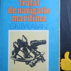 Tratat de navigatie maritima Balaban vol II