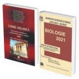 Pachet admitere universitatea Carol Davila 2021: Teste grila pentru Chimie organica si Biologie