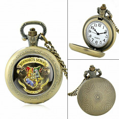 Ceas De Buzunar - HARRY POTTER - Hogwarts Draco - Bronz