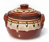 Oala ceramica, lut, 550 ml, 016337,