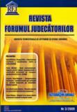 Cumpara ieftin Revista Forumul Judecatorilor - Nr. 3 2009
