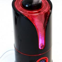 Umidificator de Camera Ultrasonic 300 ml/h cu Afisaj LCD, Functie de Ionizare si Purificare Aer, Higrometru, Termometru