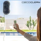 Robot pentru Curățarea Geamurilor Cecoclean WinRobot 870 5035 80W Albastru Negru