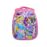 Ghiozdan pentru fetite cu imprimeu 3D Mini Junior Angel Girls GFAG1-R, BabyOno