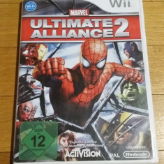 WII Marvel Ultimate alliance 2 original PAL / by Wadder, Actiune, 12+, Multiplayer, Activision