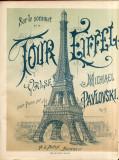 Michael Pavlovksi - Sur le Sommet de la Tour Eifell Partitura Muzica Romaneasca