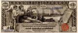 1 dolar 1896 Reproducere Bancnota USD , Dimensiune reala 1:1