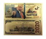 BANCNOTA CU DONALD TRUMP - 2020 - TRUMP TRAIN