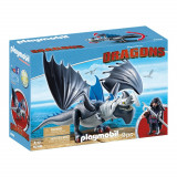 Set figurine Playmobil Dragons - Drago si Thinderclaw (9248)