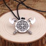 Lant/Pandantiv/Lantisor/Colier talisman viking amuleta svastica(norocul)