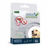 MAX BIOCIDE Zgardă antiparazitară pentru câinii de talie medie 60 cm
