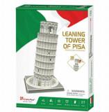Cumpara ieftin Puzzle 3D - Turnul Din Pisa, 27 piese, CubicFun