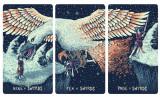 Tarotul Prisma carti Tarot imagini panoramice ca un puzzle editie lux argintiu