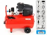 Cumpara ieftin Compresor de aer industrial 100litri, 2 cilindri, 3kW, 220V KD1483