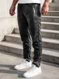 Pantaloni grafit de trening Bolf JX8106