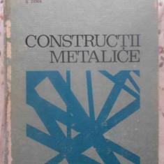 CONSTRUCTII METALICE - C. DALBAN, N. JUNCAN, C. SERBESCU, AL. VARGA, S. DIMA