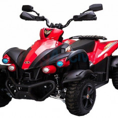ATV EVA Quad electric pentru copii 2x 45W 12V Rosu