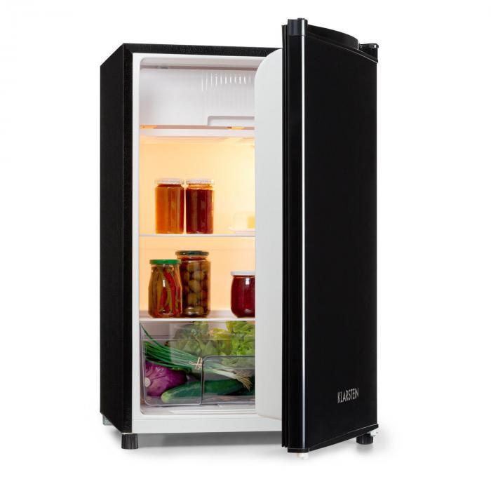 Klarstein Samara, frigider, 120l, compartiment Cripser, A +, negru